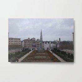 Brussels Metal Print
