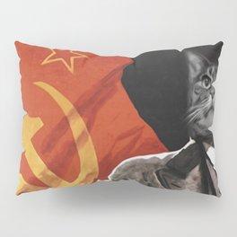 Soviet Cat Pillow Sham