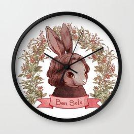 Reylo Bunnies - Benny Wall Clock