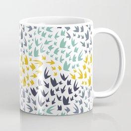 Abstract Flying Birds Coffee Mug