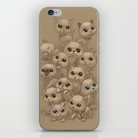 kittens iPhone & iPod Skins featuring Kittens by Antracit