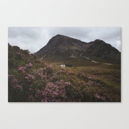 The moorland house - Landscape and Nature Photography Canvas Print