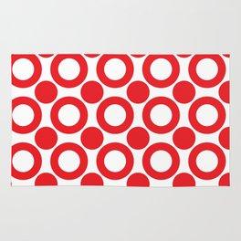 Dot 2 Red Rug