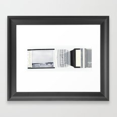 what -35 degrees looks like Framed Art Print