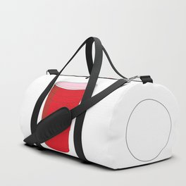 Beer Pong Illustration Duffle Bag