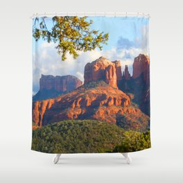 Cathedral Rocks of Sedona Shower Curtain