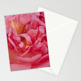 One coral beauty Stationery Cards