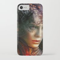 dragons iPhone & iPod Cases featuring Dragons by Nell Fallcard