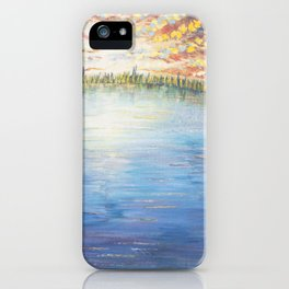 Floating Away - Original Painting iPhone Case