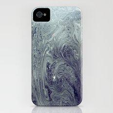 River Patterns Slim Case iPhone (4, 4s)