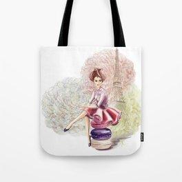 Sweet Paris Tote Bag