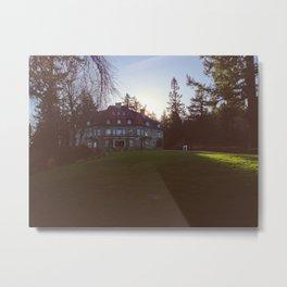 Pittock Mansion Metal Print