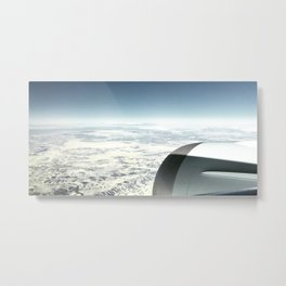 Travel Above Earth Metal Print