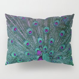 BLOOMING PEACOCK Pillow Sham