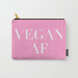 Vegan AF Statement Carry-All Pouch