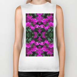AWESOME AMETHYST PURPLE BOUGAINVILLEA VINES Biker Tank