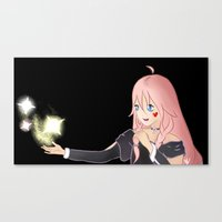 vocaloid Canvas Prints featuring IA Vocaloid by Brittany's Drawings and Doodles