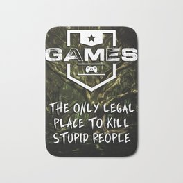 GAMES are a wonderful thing Bath Mat