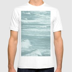 Wild Mens Fitted Tee SMALL White