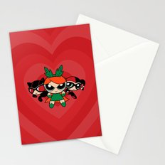 Supervillain Girls Stationery Cards