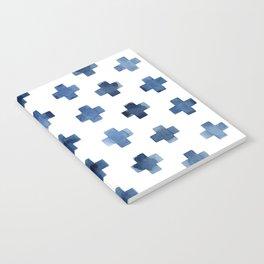 Crosses Scandinavian Pattern Notebook