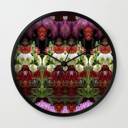 WENT TO A GARDEN PARTY Wall Clock