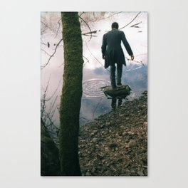 Moss and Magician Canvas Print