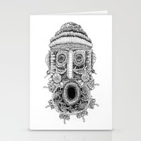 birdman Stationery Cards featuring birdman by Evaldas Boo