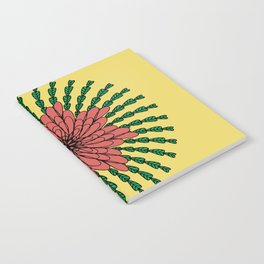coral flower Notebook