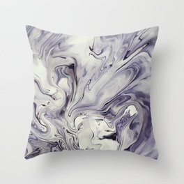 Obsidian Throw Pillow