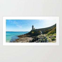 Petit Minou Lighthouse Art Print
