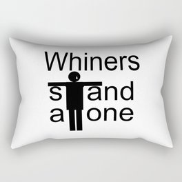 Whiners stand alone Rectangular Pillow