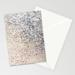 Sparkling GOLD Lady Glitter #6 #decor #art #society6 Stationery Cards