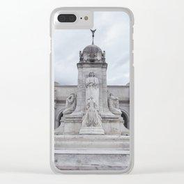 Amtrak terminal (train station) - Washington D.C Clear iPhone Case