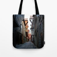 norway Tote Bags featuring Norway by ImmyBird