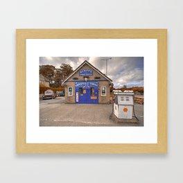 Aidensfield Garage  Framed Art Print