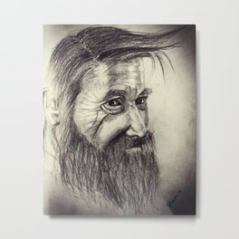 Old man Metal Print