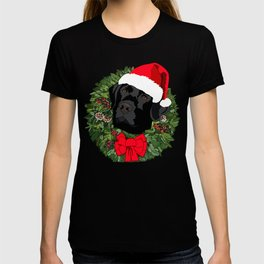 Duke the Lab does Christmas T-shirt