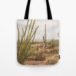Down Desert Roads, V Tote Bag