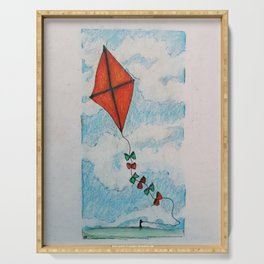 Go Fly a Kite Serving Tray