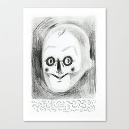 Mr S. Canvas Print