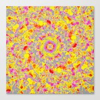psychedelic Canvas Prints featuring Psychedelic by Sandra Arduini