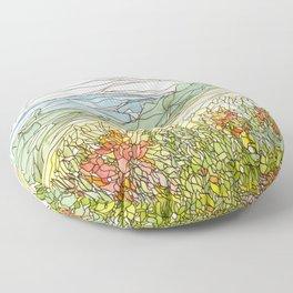 Mountains 15 Floor Pillow