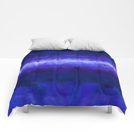 Blue Energy Abstract Comforters