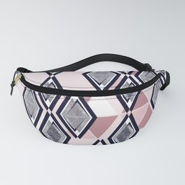 Abstract geometric pattern. Fanny Pack