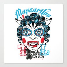 Mascaritos PERU Canvas Print