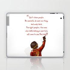 Positive Attitude Laptop & iPad Skin