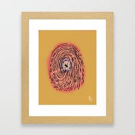 Aleph Identity Framed Art Print
