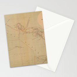 Hawaii Postal Route Map 1908 Stationery Cards