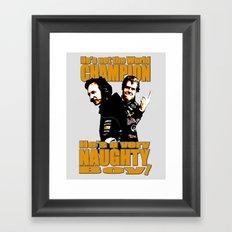 He's not the World Champion... Framed Art Print
